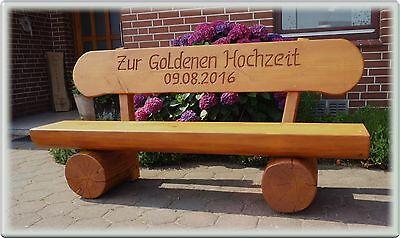Jubiläum geschenk.Gartenbank aus holz...Rentner Geschenk.Hochzeitsgeschenk..