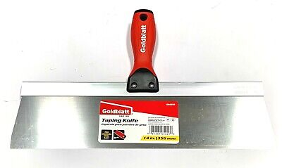 Goldblatt 14 Drywall Taping Knife Stainless Steel Soft Grip Handle G05029