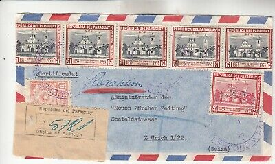Paraguay Registered Cover