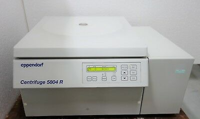 Eppendorf 5804r Refrigerated Multipurpose Centrifuge W A-4-44 Rotor