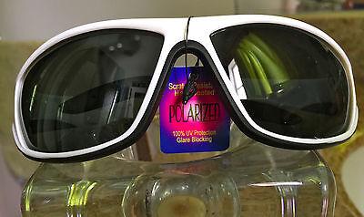 KeyWestSunglas women's med.'Del Ray Shield' UV400 Polarized fits Costa (Del Ray Sunglasses)