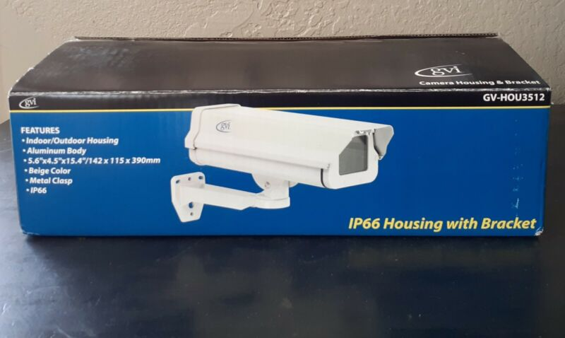 GVI Security Camera Housing with Bracket GV-HOU3512HB IP66