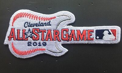 2019 ALL STAR GAME PATCH CLEVELAND INDIANS GUITAR STYLE   PROGRAM PIN IN STORE! (Store Fashion)