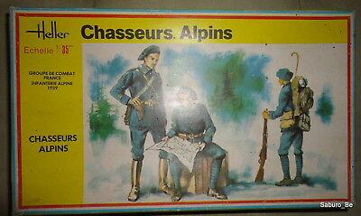 Heller 1/35 CHASSEURS ALPINS 136
