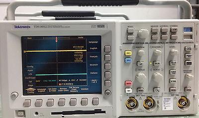 Tektronix Tds3052  Dpo3052 Digital Phosphor Oscilloscope Calibrated