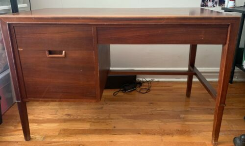 """Mid Century Modern """"Janus"""" Desk Designed by John Stuart"""