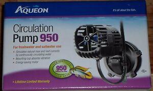 Brand New Aqueon Circulation Pump 950 Fresh or Salt Water Free Shipping