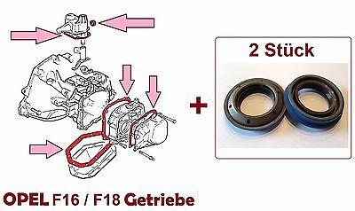 Dichtungssatz Getriebe F16 / F18 OPEL Kadett E, Astra F, Vectra A, Calibra