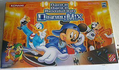 Konami Disney Ddr Dance Revolution Mat Pad Game System Pl...