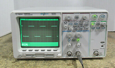 Agilent 54621a 60mhz Portable Two Channel Oscilloscope W N2757a Gpib Interface