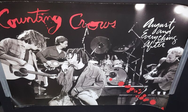 COUNTING CROWS PROMO ONLY POSTER