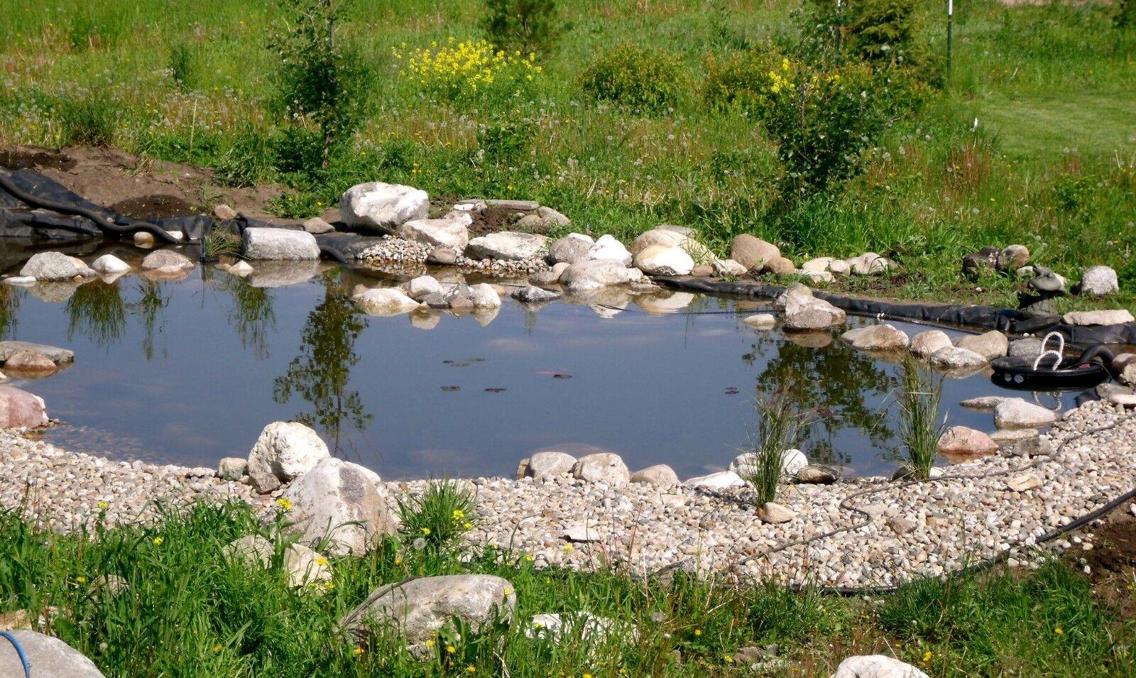 10 39 X 40 39 Vinyl Tarp 20 Oz 22 Mil Pond Liner Waterproof