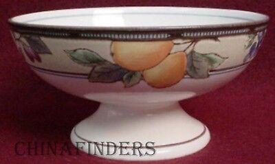 "MIKASA china GARDEN HARVEST Crudite Sherbet or Footed Dessert Bowl - 5"" x 2-1/2"""