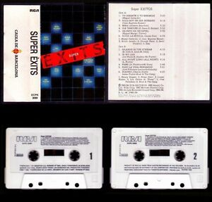SUPER EXITOS - SPAIN CASSETTE RCA 1984 - BEATLES RINGO STARR - NEAR MINT
