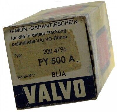 GEPRÜFT: PY500A Radioröhre, Hersteller Valvo. ID16912