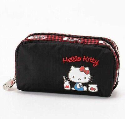 Hello Kitty X LeSportsac 45th Cosmético Bolsa RECTANGULAR COSMETIC Japón Rastreo