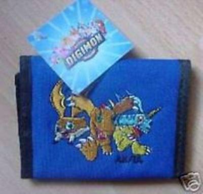 Digimon Geldbörse mit aufgesticktem Bild