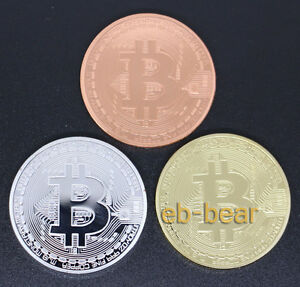 Wholesale-Lots-3-Pcs-Bitcoin-Collectible-Coin-Gold-plated-Silver-plated-Copper