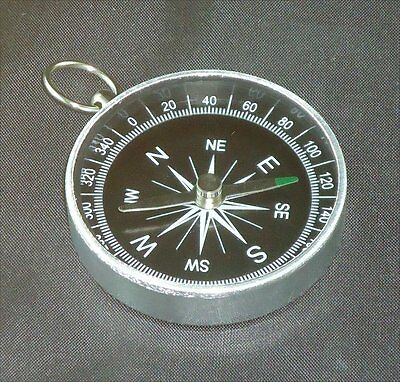 POCKET COMPASS - HIKING - SCOUTS - CAMPING - WALKING - SURVIVAL AID - GUIDES