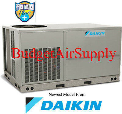 DAIKIN Commercial 5 ton 13 seer(208/230)3 phase 410a HEAT PUMP Package Unit