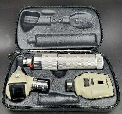 Welch Allyn 2.5v Diagnostic Set With Otoscope Ophthalmoscope Plugin Handle 2
