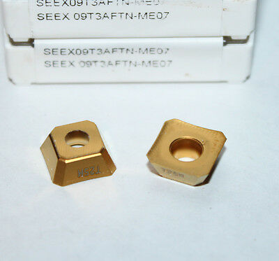 Seex 09t3aftn-me07 T25m Seco 10 Inserts 1 Factory Pack
