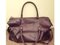 Aspen RE Brown Leather Man Bag