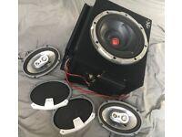 FULL Car Audio Setup! - Kenwood Subwoofer, FLI speakers, Pioneer & Alpine Amps