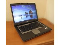 DELL D830 Laptop, Core2 Duo 2.4GHz, 4GB RAM, 320GB Hard Drive, Windows 10 pro freshly installed