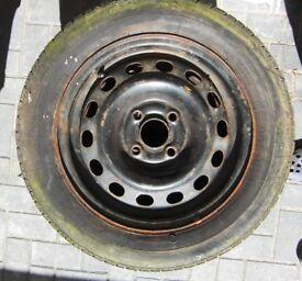 3x Honda Civic 14in Steel Wheels
