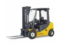 Counter balance Forklift operators required