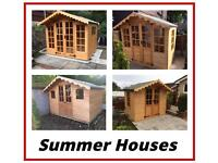 Summer house (All Sizes & Manny designs) High Quality (FREE DELIVERY & FREE INSTALLATION)