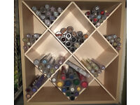 Haberdashery Shop Retail - Small Button Display Unit with Buttons Included