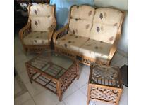 Wicker Patio Furniture Set