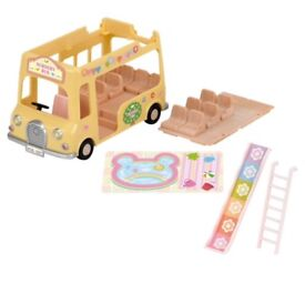 Sylvanian nursery bus brand new in box