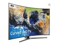 "65"" SAMSUNG Smart 4K Ultra HD HDR Curved LED TV UE65MU6670 warranty and delivered"