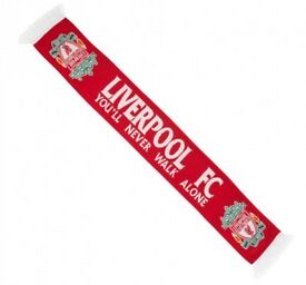 Official Liverpool FC football scarf-postage available