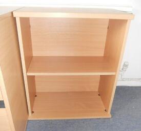Desk Height Office Shelf Unit, Bookcase, Bookshelves, TV Stand, Printer Stand