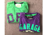 Two Men's Superdry Tshirts - New - Small