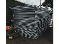 🚧 *New* Round Top Heras Temporary Security Fencing Sets X 35 - Panel/Foot/Clip