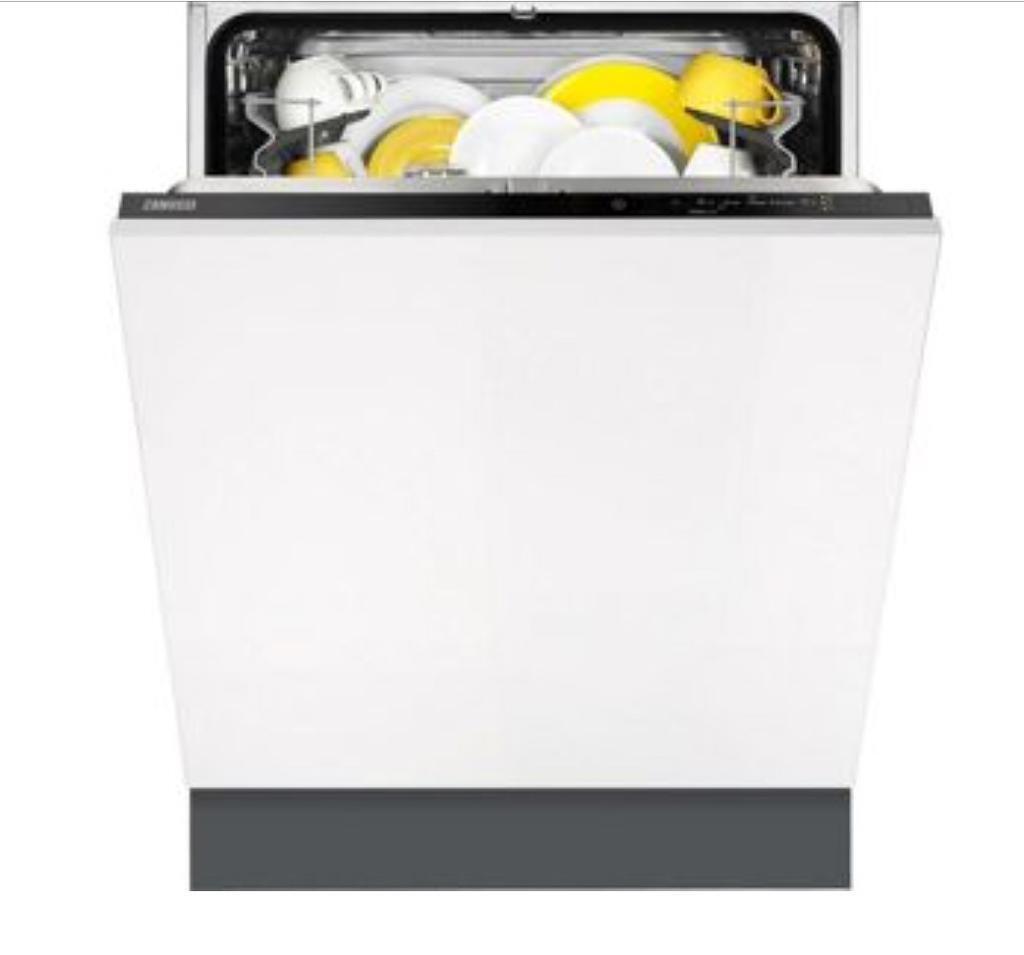 Zanussi ZDT21006FA Full Size Built-In Dishwasher - White