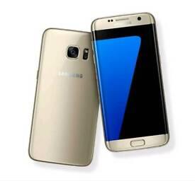 Samsung galaxy s7edge 32gb gold platinum