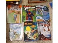 6 lightly used and new activity books