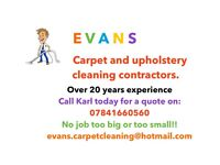 Carpet and Upholstery Cleaning from only £25