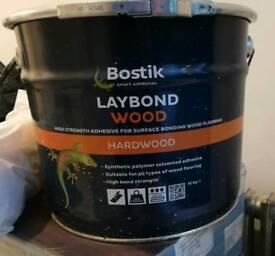 Bostik laybond wooden floor adhesive