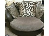 Single Large Settee Chair Sofa