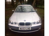 87000 MILES 2003 BMW 316TI ES COMPACT 12 MONTHS MOT £400 SPENT (MOT) FULL SERVICE HISTORY