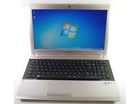 "Samsung RV511 - 15.6"" Silver Laptop - Intel Core i3 - M380. 2.53ghz - 3GB - 320GB - Win 7"