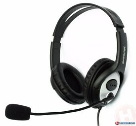 Microsoft -Gaming/Skype Computer Headset and Microphone - LIFECHAT LX-3000- JUG-00014