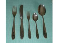 WMF silver-plated cutlery set (for 6 people)